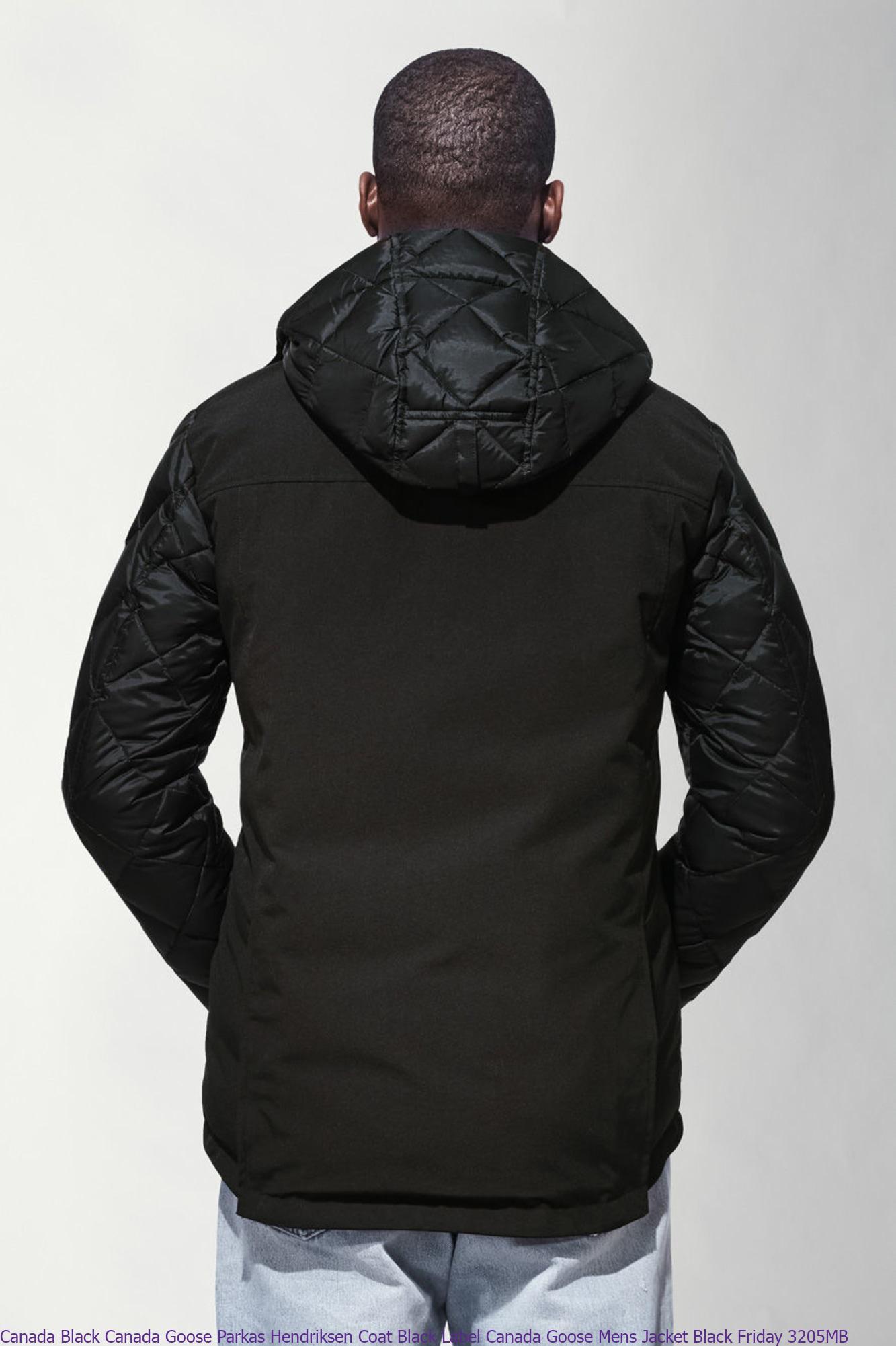 Canada Black Canada Goose Parkas Hendriksen Coat Black ...