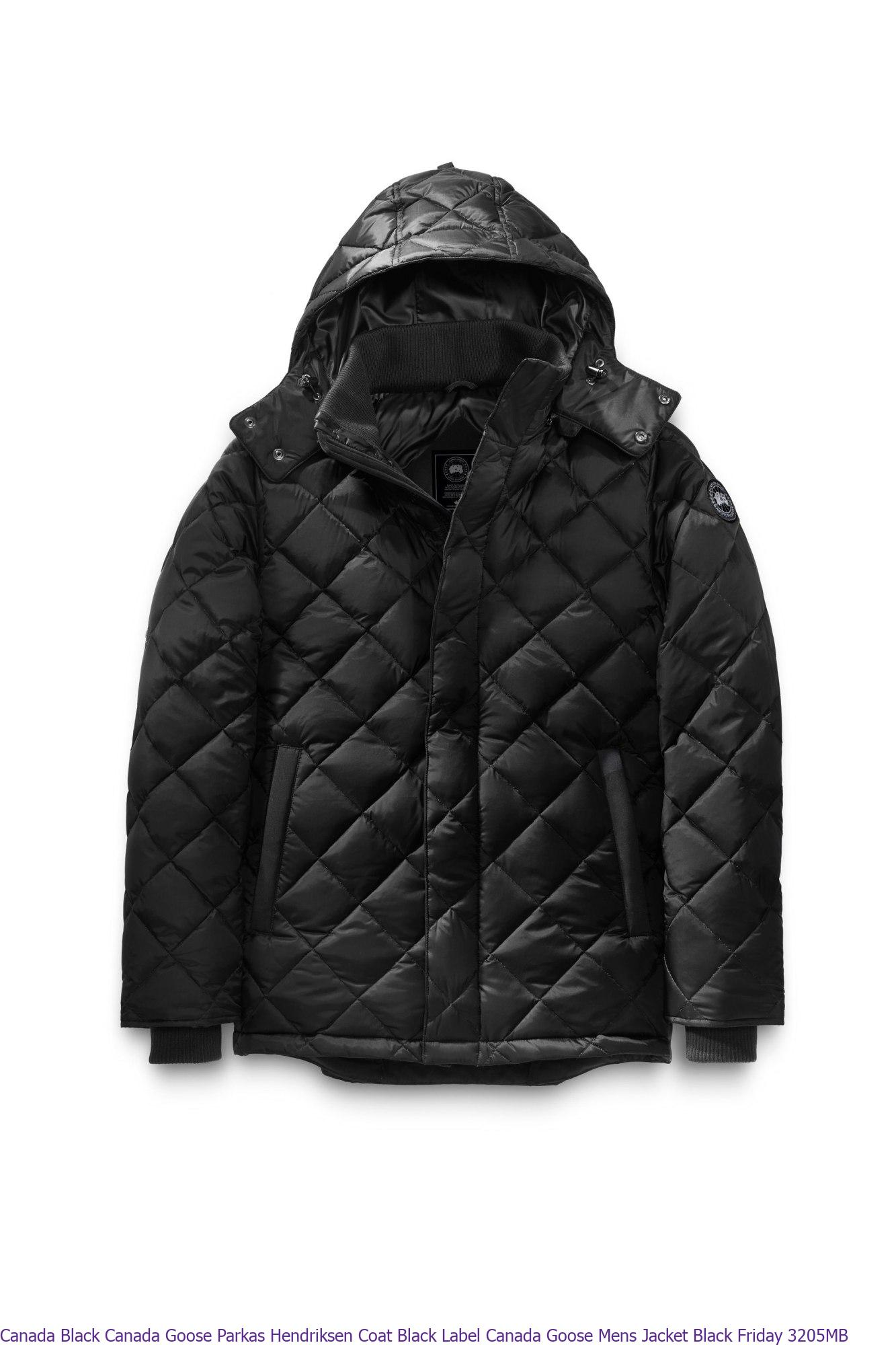 Canada Black Canada Goose Parkas Hendriksen Coat Black