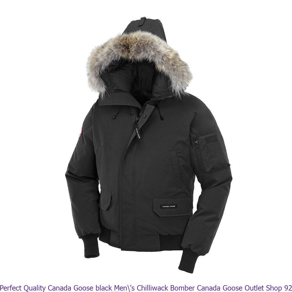 1dda5af3ccd Perfect Quality Canada Goose black Men\'s Chilliwack Bomber Canada ...