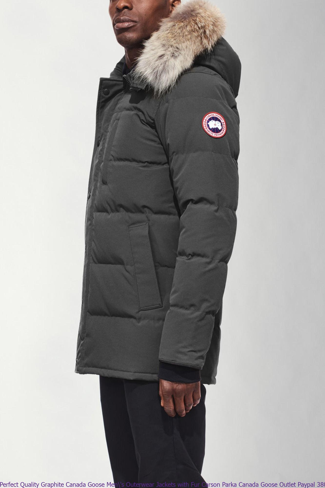 53e81ca24e07 Perfect Quality Graphite Canada Goose Men  s Outerwear Jackets with ...