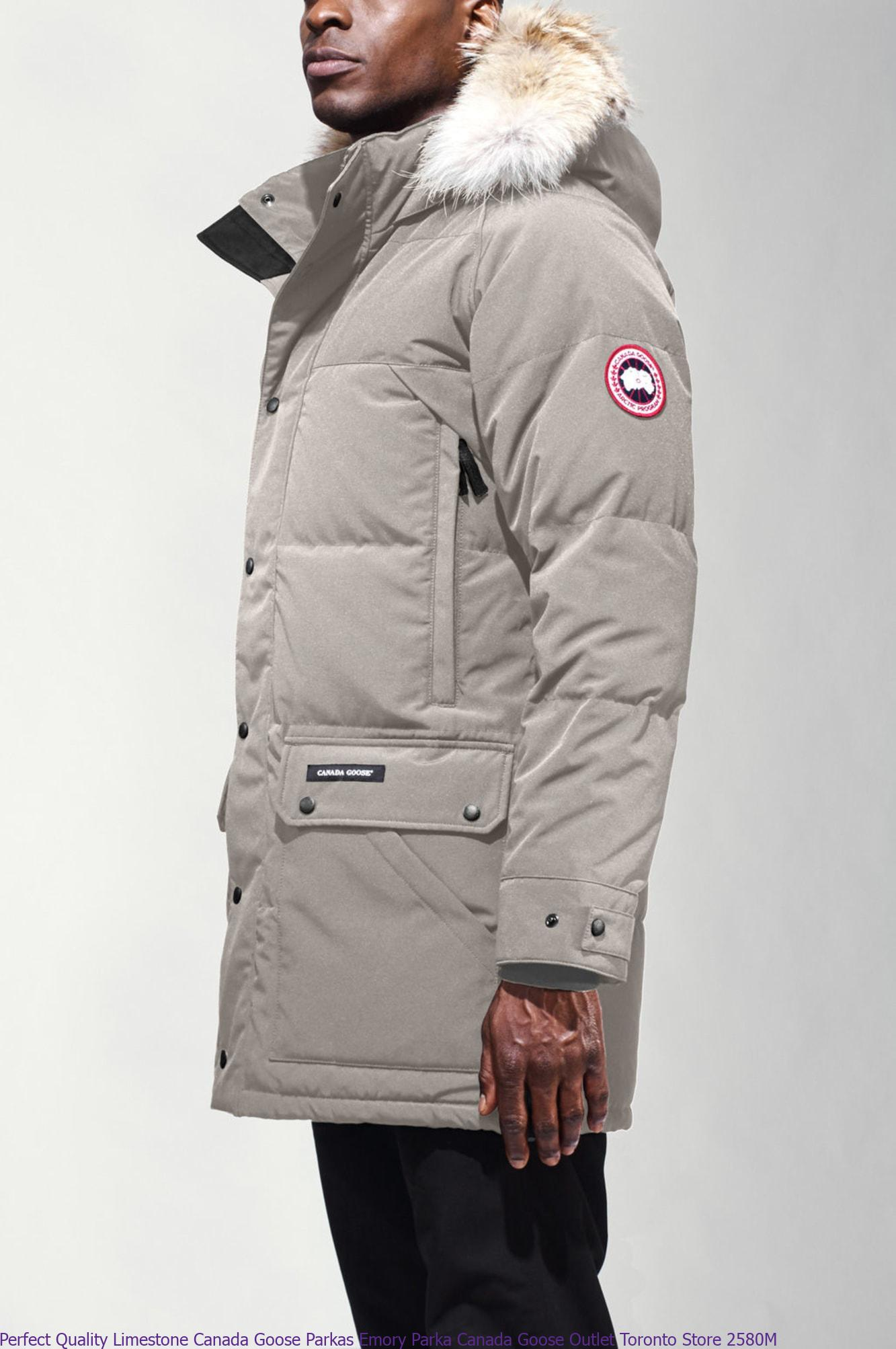 Perfect Quality Limestone Canada Goose Parkas Emory Parka Canada Goose Outlet Toronto Store 2580M